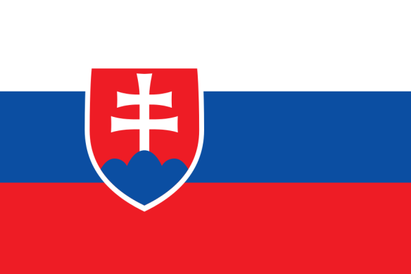 Symbol of self-determination - Slovakian flag