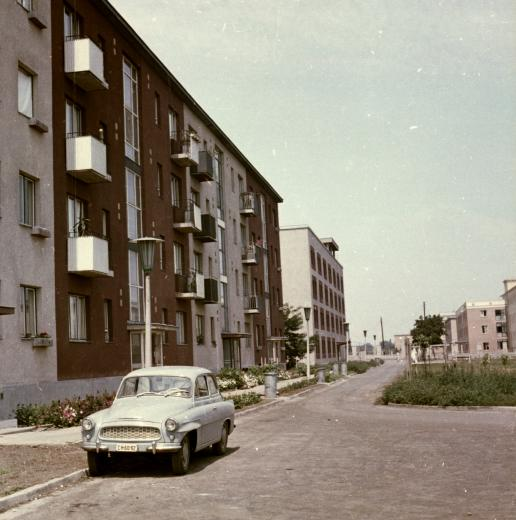 The long post-war boom brought relative prosperity to Miskolc - along with endless rows of apartment blocks