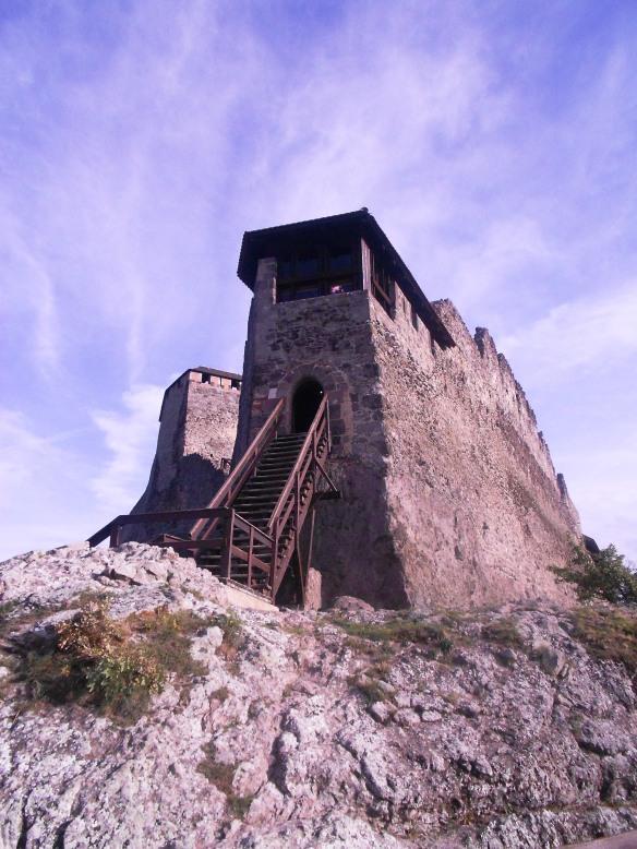 Upper Castle - the pinnacle of Visegrad