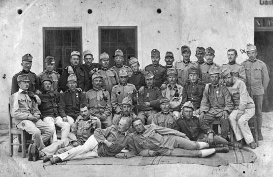 Hungarian Soldiers in 1914