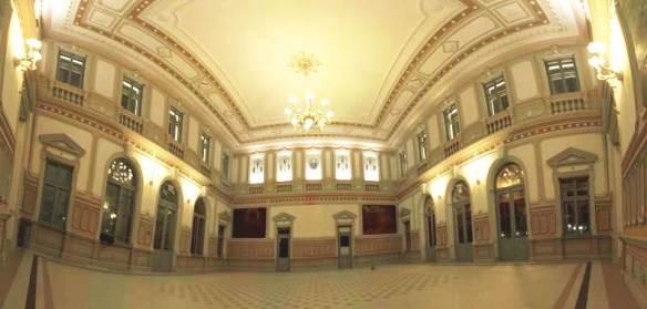 Interior of Przemysl Railway Station (Credit: Pawel Zemetka)