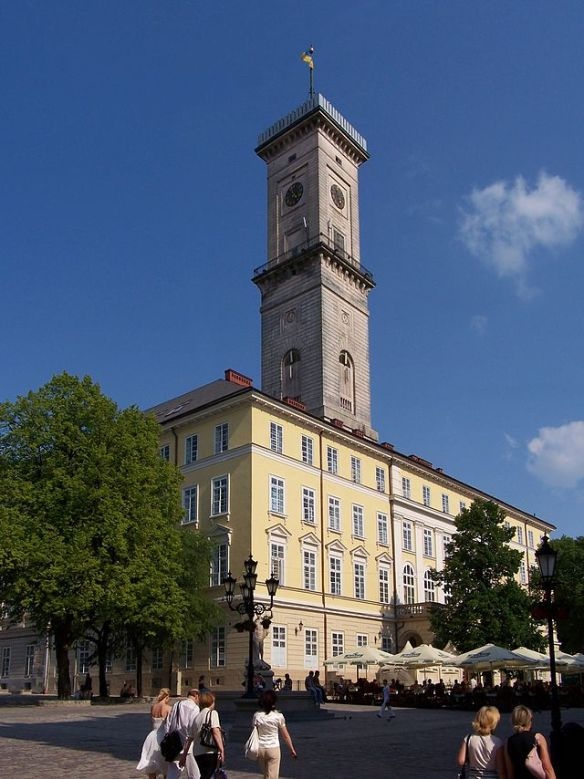 Ratusha (Town Hall) in Lviv