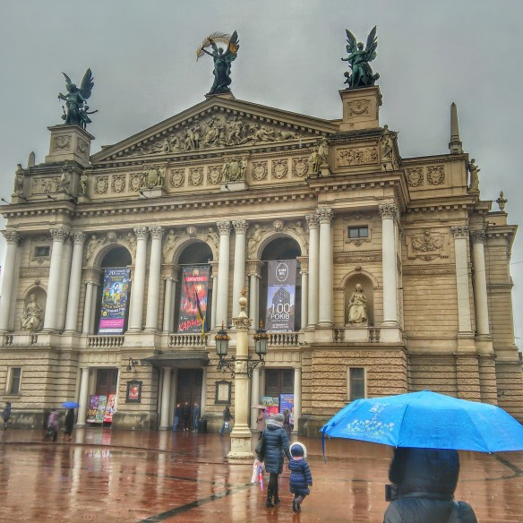 The Opera House in Lviv