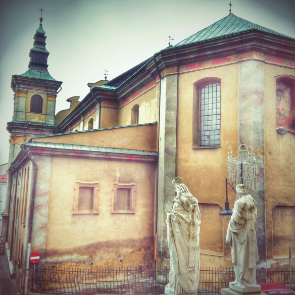 There is a wealth of religious architecture to be found in Przemysl's Stare Miesto (Old Town)
