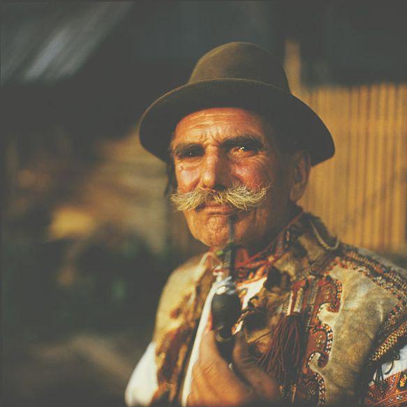 A Hutsul man