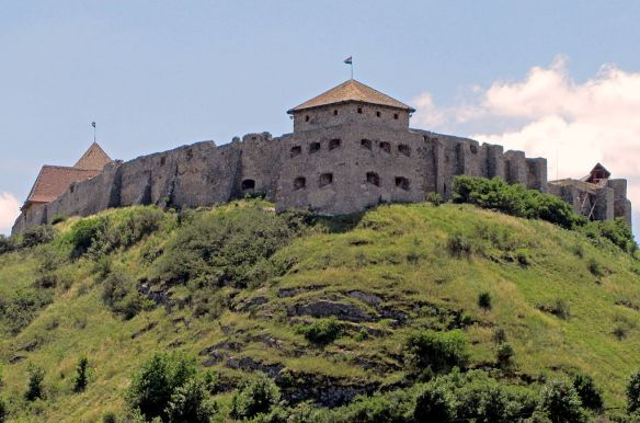 Sumeg Castle in western Hungary