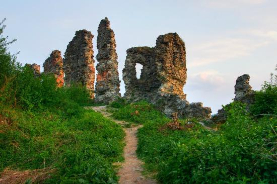 The Ruins of Khust Castle