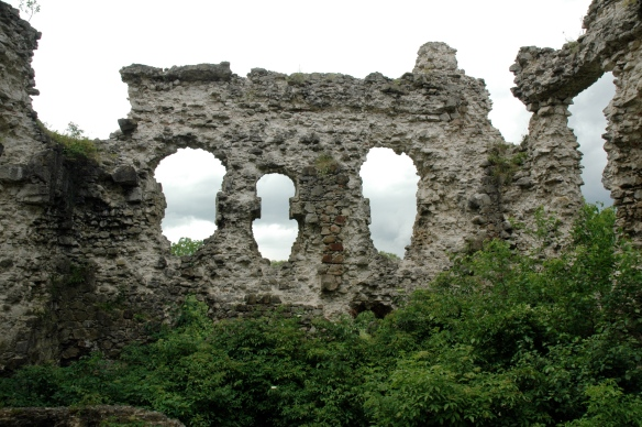 Serednie Castle was the lone Knights Templar structure in the far eastern reaches of Europe (Credit VargaA)