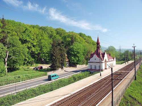 The Karpati Train Station For Schonborn Castle