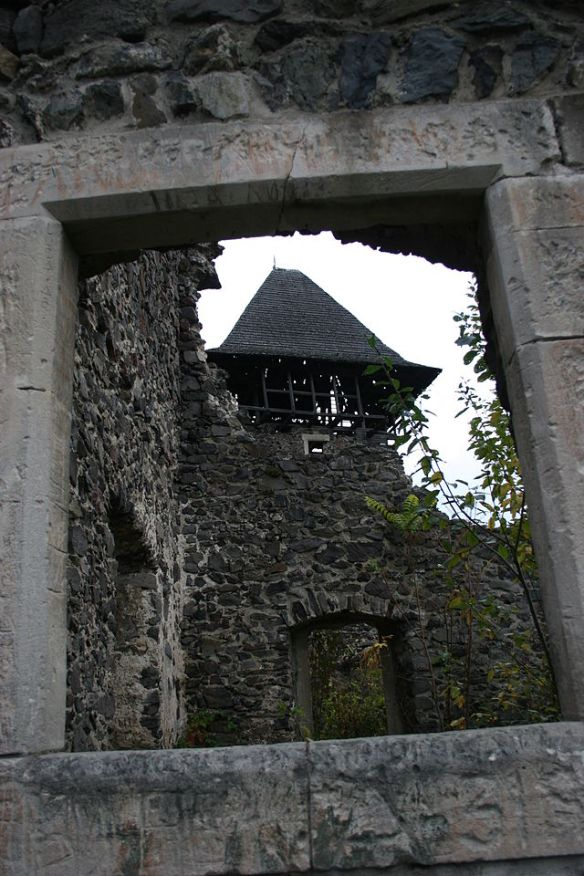 The ruins of Nevitsky castle
