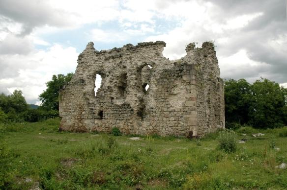 The Serednie Castle ruins - oldest medieval castle in Transcarpathia