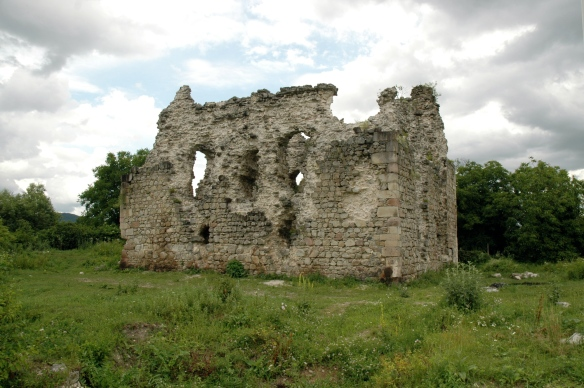 The Serednie Castle ruins - oldest medieval castle in Transcarpathia