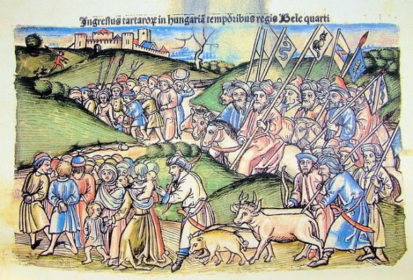 The Mongol invasion of Hungary