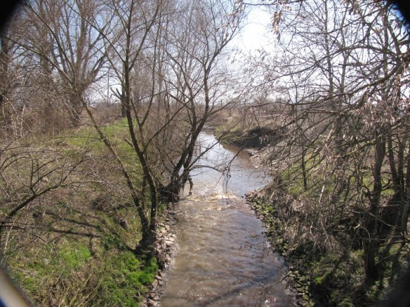 The Poltva River outside of Lviv as it looks today