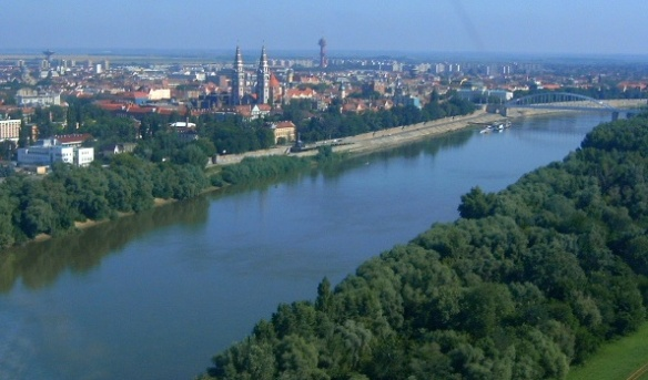 The Tisza at Szeged, Hungary