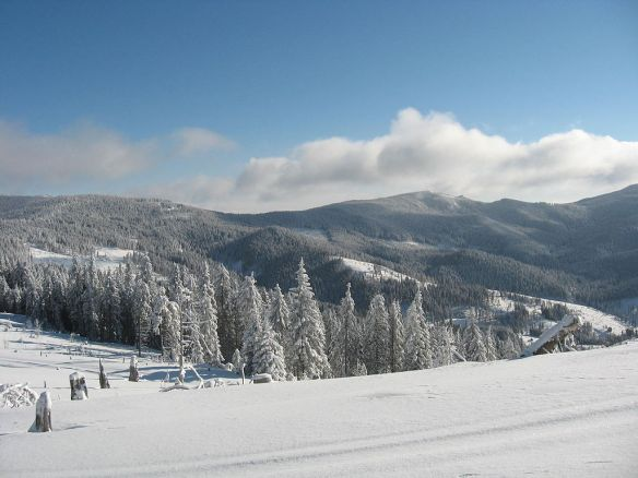 Winterscape in Szekelerland - Harghita Mountains