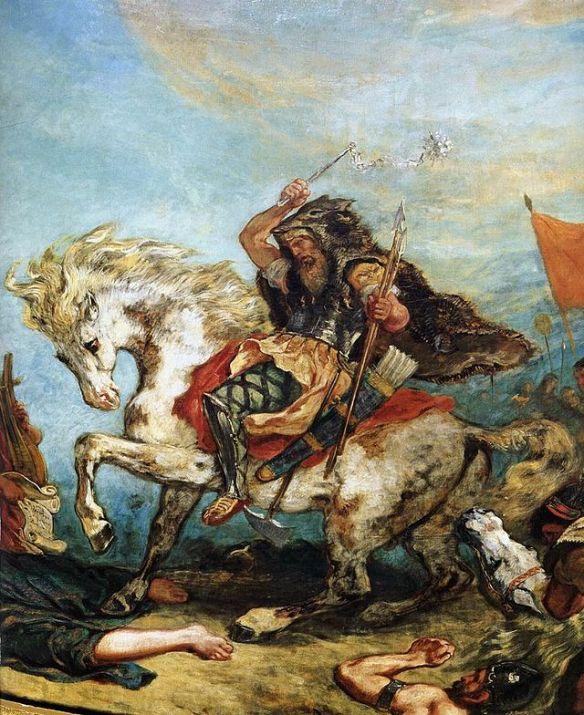 Attila the Hun - 19th century artistic depiction