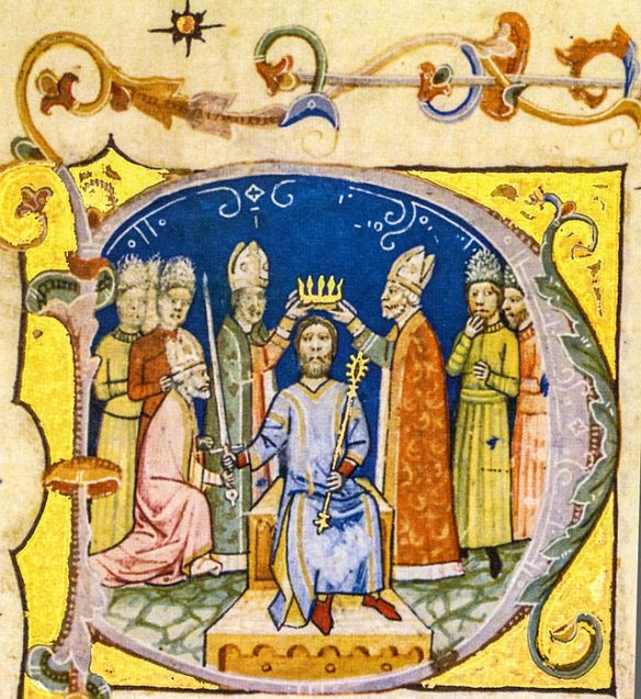 Coronation of King Andrew I of Hungary