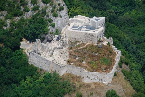 Csokako Castle - A view from above