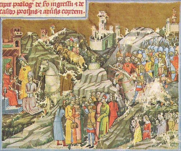 Hungarian (Magyar) Conquest of the Carpathian Basin - the Magyars arrived 450 years after the Huns