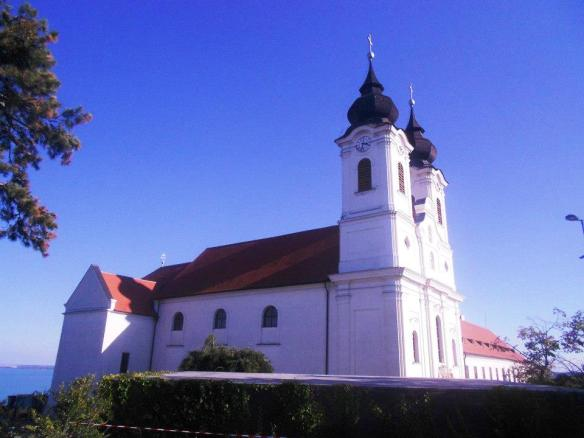 The Abbey Church in Tihany
