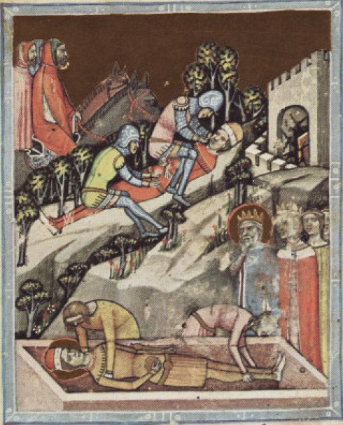 The blinding of Vazul, father of King Andrew I