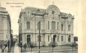 The Sátoraljaújhely synagogue in 1944