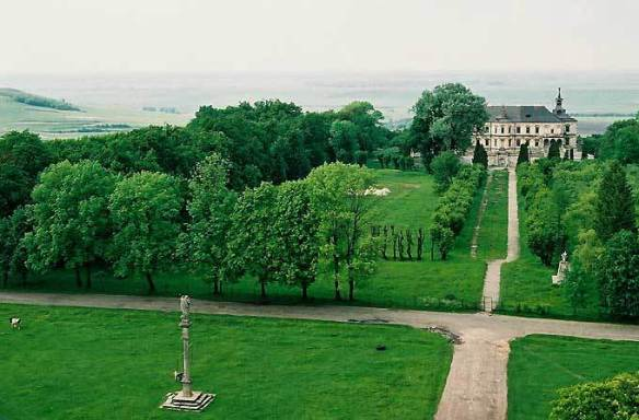 A Path To The Past - Pidhirtsi Castle and surrounding grounds