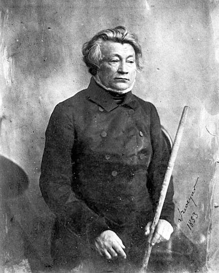 Adam Mickiewicz in his later years