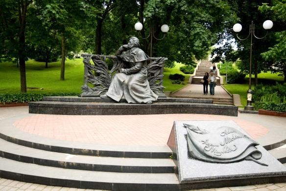 Mickiewicz monument in Minsk, Belarus