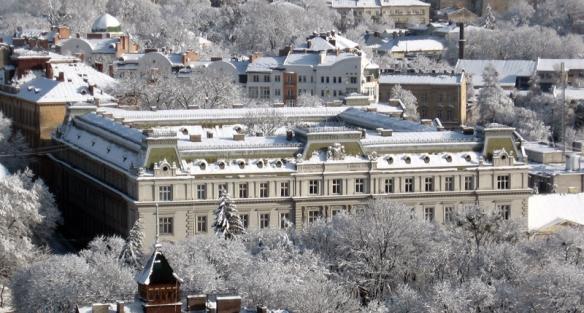 The Government House in Lemberg (Lviv, Ukraine)