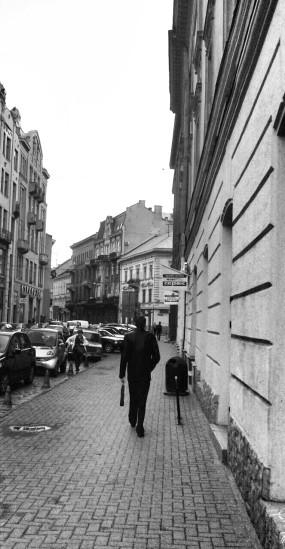 The way to Potocki Palace is totally deceptive (Credit: Lidiya Vezdenko)