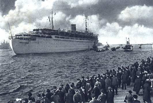 A distant memory - the Wilhelm Gustloff in pre-war days