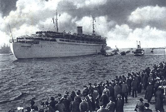 A distant memory - the Wilhelm Gustloff in pre-war days