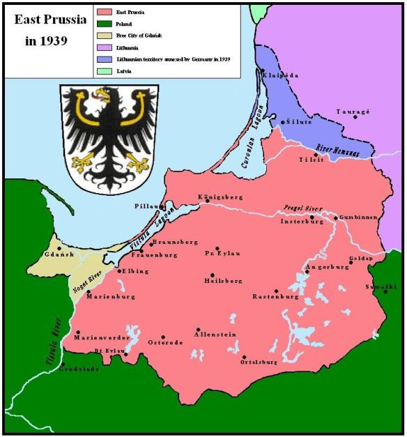 East Prussia in 1939