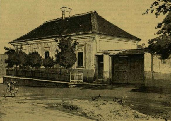 Birthplace of Lajos Kossuth in Monok, Hungary