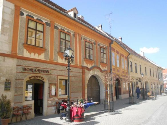 Buildings in Kőszeg 's Belváros (Inner City)
