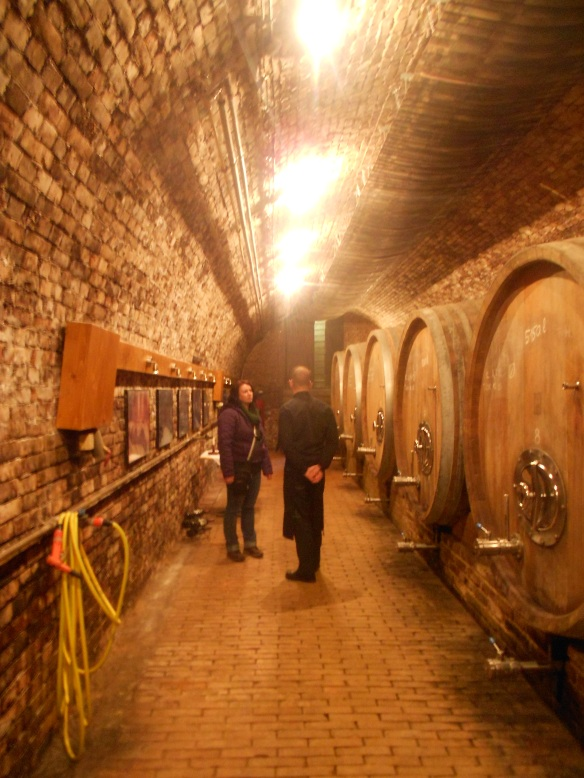 In the Gere wine cellar