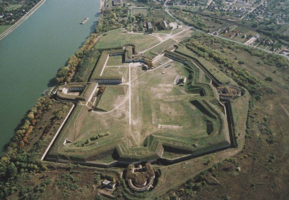 Monostori - largest fort in Central Europe