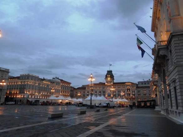 Piazza Unità d'Italia in Trieste