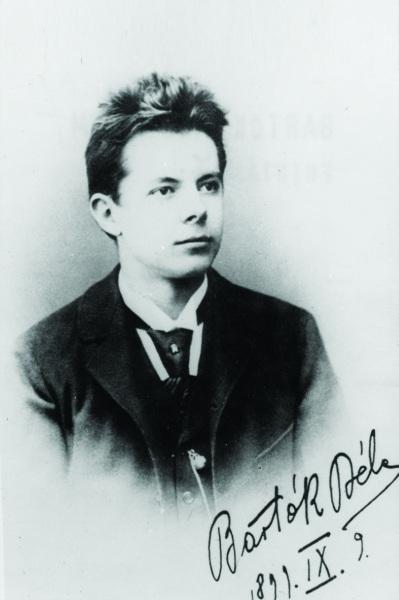 The young Bela Bartok