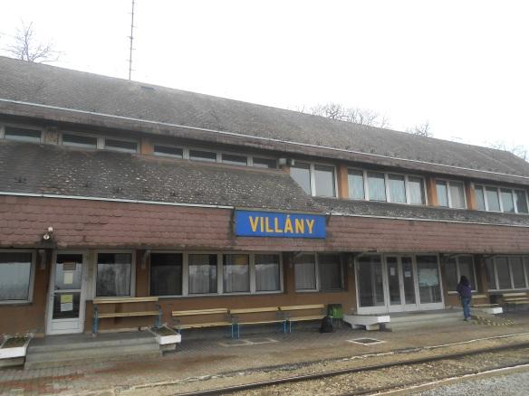 The train station in Villány
