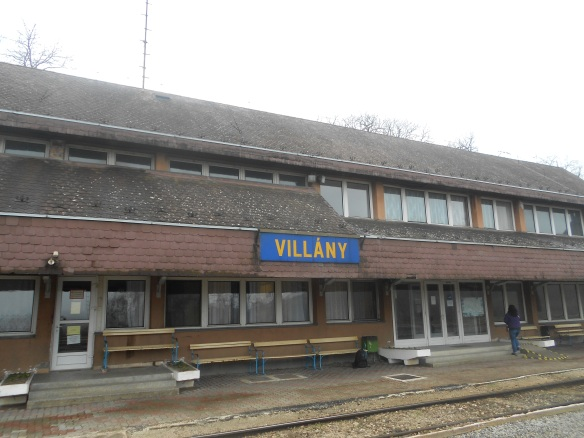 The train station in Villány