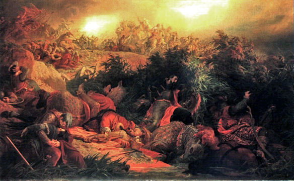 Battle of Mohács - painting by Bertalan Székely