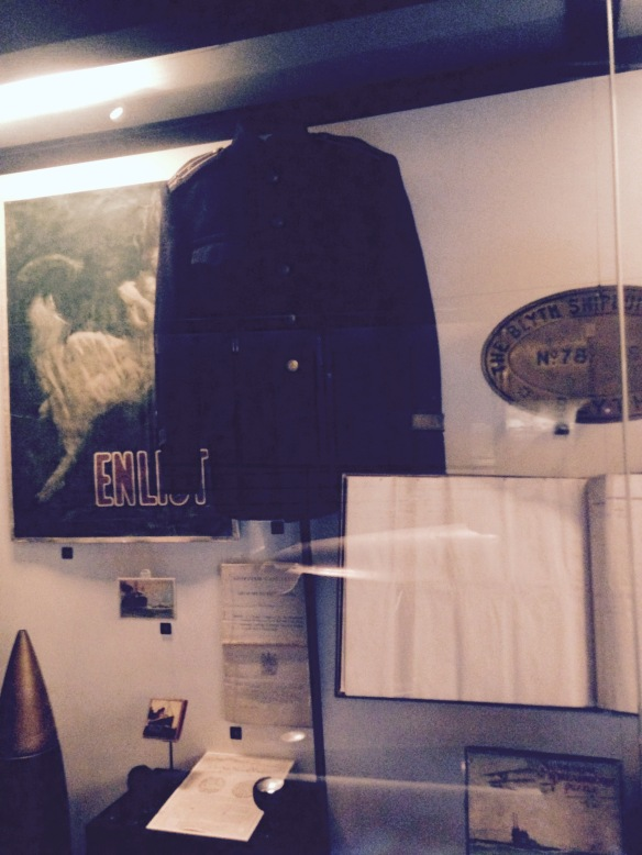 Bulgarian naval officer's tunic