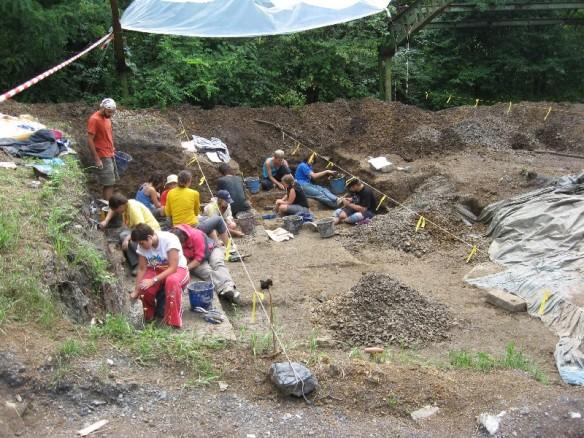 Excavation at Rudabanya