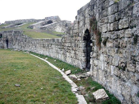 Ruins of the Roman Amphitheatre at Aquincum