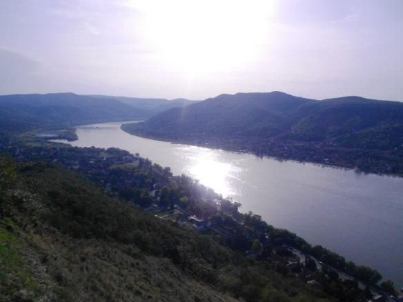 The Danube River in northern Hungary