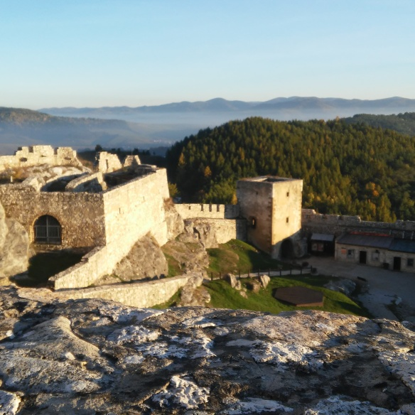 View from the heights of Spiš Castle