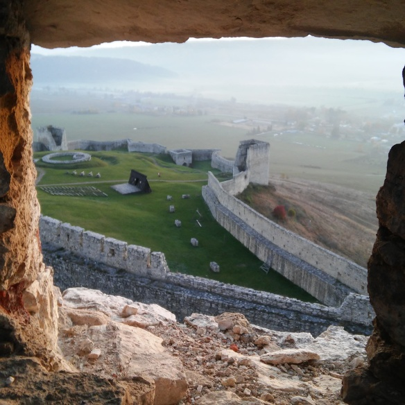 A window into the past at Spiš Castle